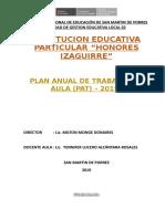 Relación Del Calendario Cívico Escolar de La i