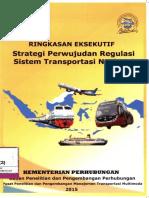 2015-STRATEGI PERWUJUDAN REGULASI SISTEM TRANSPORTASI NASIONAL-BALITBANGHUB.pdf