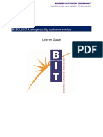 1 BSBCUS501 Learner Guide - Activities.docx
