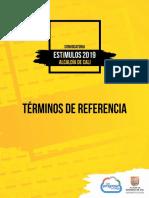 Terminos de Referencia Convocatoria Estímulos Alcaldía de Cali  2019 (2).pdf