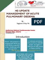 Modern Nursing Cardiogenic Pulmonary Edema Seminar HARKIT Sugiyono (1)