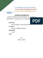 METODO DE EXPLOTACION MINERA EN LAS MINA EL PORVENIR Y ATACOCHA DE LA COMPAÑÍA MILPO S.A..docx