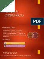 Trauma Obstetrico