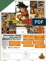 Dragon Ball Z Mind Map