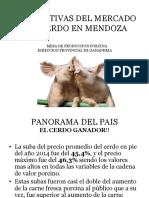 Perspectivas Del Mercado Del Cerdo en Mendoza