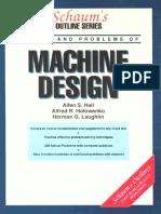 SCHAUM's Outline of Machine Design-1961