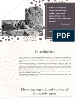 Effects of Historical Mining Activities on Surface Water