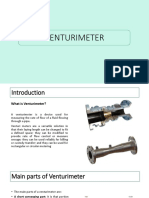 Venturi Meter Presentation