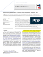 1. Isolation and Characterization of Pigment From Cinnamomum Burmannii' Pee...l