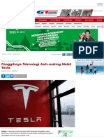 Canggihnya Teknologi Anti-maling Mobil Tesla