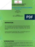CIM (Computer Integrated Manufacturing)
