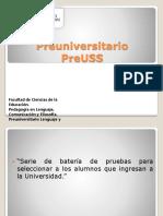 0. Presentación PreUSS 2013