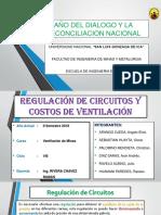 Ventilacion de Minas Grupo 14 Regulacion de Circuitos y Costos de Ventilacion