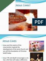 jesus lives - resurrection rb