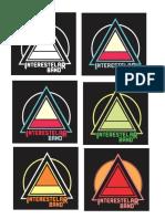 Tarjetas y Logo Interestelar