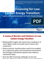 Private Financing for Low-Carbon Energy Transition