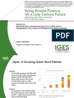 Mobilizing Private Finance towards a Low-Carbon Future