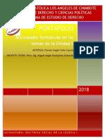 """Perú- Cañete 2019 """"Año de la lucha contra la Impunidad y la corrupción?"""