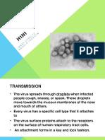 h1n1 presentation