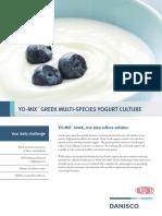 YO MIX Greek Brochure