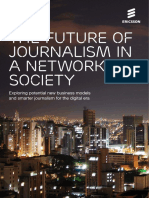 The Future of Journalism in a Networked Society Screen