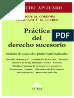 Práctica del Derecho Sucesorio. Córdoba. Ferrer. 2016. Con seleccion de texto - BUSCADOR (1).pdf