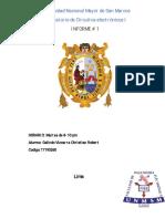 Informe N°01 de C. Electrónicos