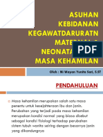 ASUHAN KEBIDANAN KEGAWATDARURATN  MATERNAL & NEONATAL PADA MASA.pptx