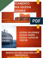 CAPITULO 4 EL FUNDAMENTO PARA UNA IGLESIA SALUDABLE.pptx