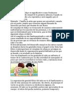 El complejo de Edipo es significativo como fenómeno central del período sexual de la primera infancia.docx