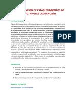 CATEGORIZACIÓN DE ESTABLECIMIENTOS DE SALUD.docx