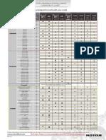 Q RINGS ROAD Cranks Compatibility Chart 0.1