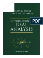 Introduction to Real Analysis Robergt g Bartle