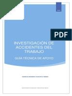 Investigacion de Accidentes Del Trabajo