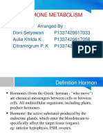 Hormon Metabolism