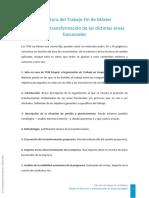 Estructura MBA Transformacion