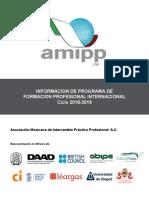 Informacion de Programas Amipp 2018-19