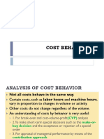 03 Cost Behaviour