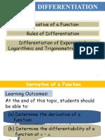 Ymy Differentiation