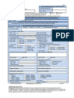CIF 01 - Account Opening Form for EFS Programme