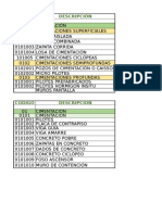 Listado de CIMENTACION.xlsx