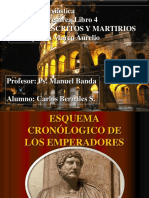 Resumen Historia Eclesiástica Eusebio de Cesarea Libro 4