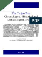 The Trojan War Chronological Historical