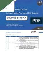 Petunjuk Penggunaan Aplikasi Portal eProc Fitur LPSE Support Modul LPSE.pdf