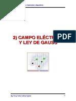 Cap 2 Campo Eléctrico y Ley de Gauss 19-38-2016ii