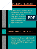 5organizing Process