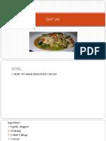 recipe capjay