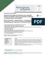 Consenso de La Rama de Genética de La S...Énitas de Mal Pronóstico Vital (ACMPV)