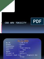 CBD ARV Toxicity