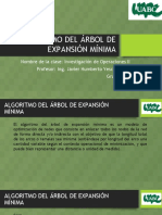 Arbol de Expansion Minima